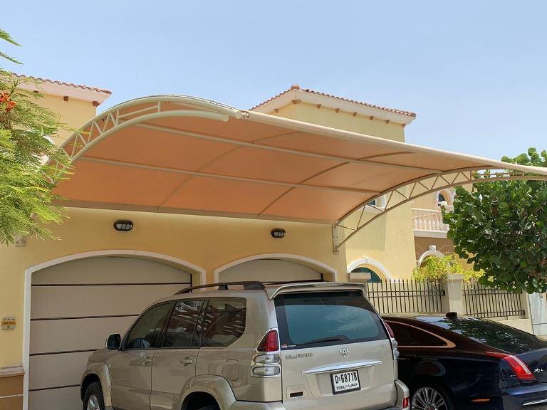 Car Parking Shade Arabian Ranches